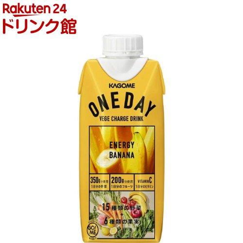 カゴメ ONEDAY ENERGY BANANA(330ml*12本)