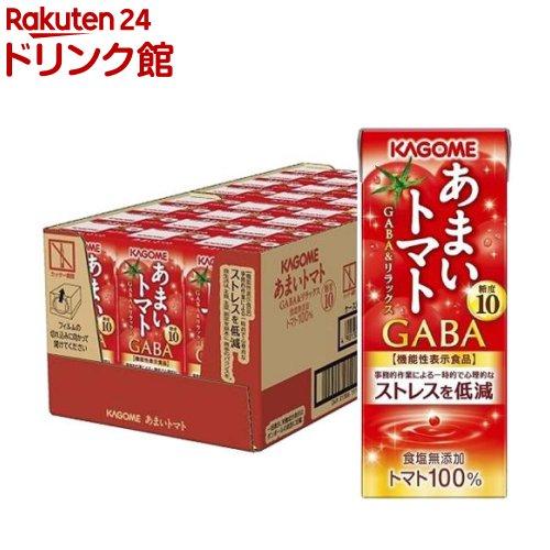 カゴメ あまいトマト GABA&リラックス(195ml*24本入)