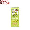 キッコーマン 調製豆乳(200ml*18本入)【キッコーマン】