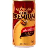 ジョージア(GEORGIA) ザ・プレミアム 185g缶 *60個(2ケース)