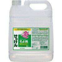 miyoshi液體肥皂微風5L[MIYOSHI SOAP miyoshi微風]