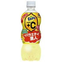 【送料無料】コカ・コーラ ファンタ Fanta レモン+C(プラスC) 500mlペットボトル48本入(2ケース)[コカコーラ]