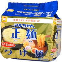 【ケース販売】マルちゃん正麺 つけ麺 魚介醤油豚骨 5食入×6袋[東洋水産]