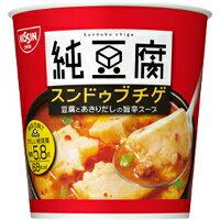 【10000円以上で本州・四国送料無料】日清食品新純豆腐スンドゥブチゲスープ6個セット(1ケース)