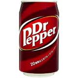 コカ・コーラ ドクターペッパー 350ml缶 *24個(1ケース)