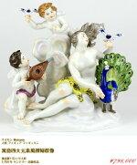 マイセンバロック人形フィギュアフィギュリン神話作品群寓意四大元素風裸婦群像1750年ケンドラー極美完全体アンティークmeissen