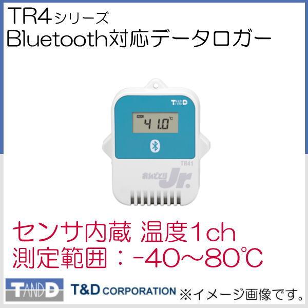 Bluetooth対応 温度データロガー TR-41 T&D TR41