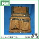 基陽 HUMHEM ウエストバッグ 茶 HM127-BR KH 腰袋 ブラウン フムヘム