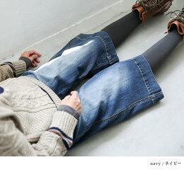 ガウチョパンツS/M/L/LL/3Lサイズ美脚&小尻を手に入れるロングセラーの一本*デニムガウチョパンツ*レディース/ストレッチ/リンネル掲載soulberryオリジナル
