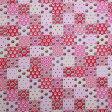 ソレイアード SOULEIADO ラミネート生地(ビニールコーティング)Baby patch(ベビーパッチ) ピンク