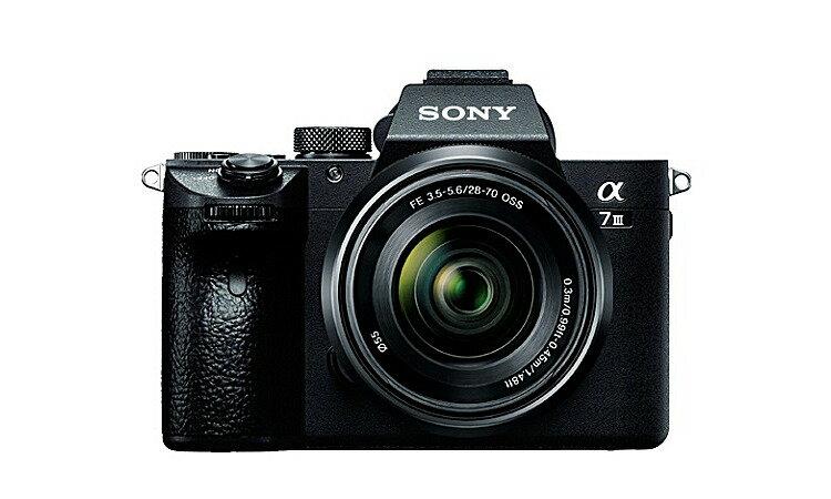 【(沖縄・離島除く)】デジタル一眼カメラ α7 III ズームレンズキットILCE-7M3K