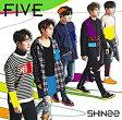 SHINee(シャイニー)/FIVE(通常盤)(CD) 2017/2/22発売 UPCH-20445