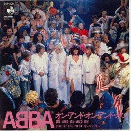 【中古レコード】アバ/オン・アンド・オン・アンド・オン[EPレコード 7inch]