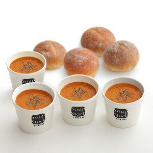 【送料込】スープストックトーキョー オマール海老のビスクと石窯パンのセット【180g】