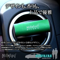 ミッレフィオーリ/カーエアフレッシュナー/芳香剤/車/エアコン