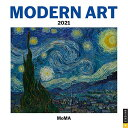 Modern Art 2021 Mini Wall Calendarの商品画像
