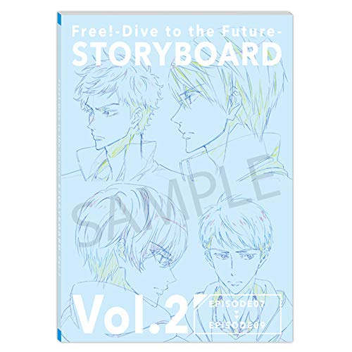 Free! DF STORYBOARD Vol.2 Dive to the Future 絵コンテ集画像