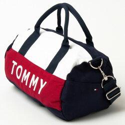 【TOMMYHILFIGERトミーフィルフィガー】ミニボストンバッグ刺繍【あす楽対応】【YDKG-m】