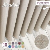 <SDDC-004/S15115>Meadow(メドウ)遮光カーテン【遮光・遮熱・形状記憶・ウォッシャブル】イメージ01
