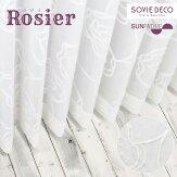 <SDLC-002/ZHS>Rosier(ロジエ)レースカーテン【形状記憶・ウォッシャブル】イメージ01