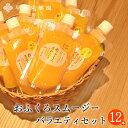 飲むゼリー おふくろスムージーバラエティセット12本入 スムージー 有田みかん ゆず レモン 橙 だいだい...