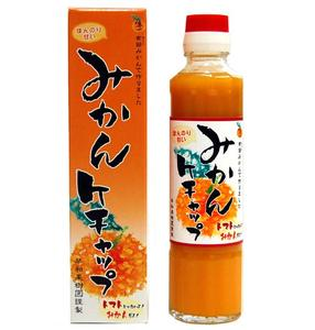 【和歌山】【早和果樹園】みかん果汁を使用し、ほんのりと甘めのめずらしい「みかん」ケチャッ...