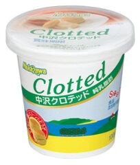 【クロテッドクリーム】コクのある乳風味となめらか口どけの良さがスコーンの味を引き立てます。