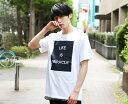 プリントTシャツ トレンド モノトーン 新作 春 夏 半袖 Tシャツ トップス メンズ ファッション メンズ