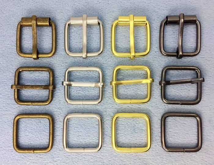 1103● クラフト金具 管 バックル 内径20mm 線径3mm 10個入り 鉄製 アンティーク 管美錠 バッグに 加厚 アンティークゴールド (真鍮古美) ニッケル ゴールド 黒ニッケル マットゴールド 新色入荷