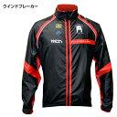 【メール便200円OK】mcnウインドブレーカー Black&Red(自転車ウェア、サイクルウェア)
