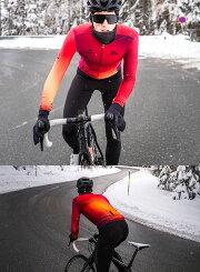 Monton[モントン]男性用ウインターサイクルジャージ[冬用/長袖/フリース/自転車用]Cobrand【店頭受取対応商品】