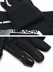 monton[モントン]冬用サイクリンググローブ(自転車用手袋長指ウインターフリース裏起毛)[SOARII]【店頭受取対応商品】