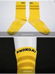 Monton[モントン]サイクリングソックス[Skull]自転車ロードバイクレース靴下ニット【店頭受取対応商品】
