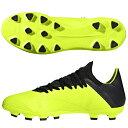エックス 18.3 HG/AG アディダス(adidas) サッカースパイク ソーラーイエロー×コアブラック×ランニングホワイト (BB6954)【2018年8月アディダス】