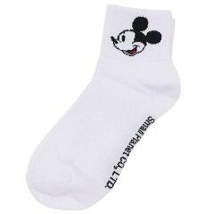 Disneyディズニーミッキーマウスフェイスクルーソックス【レディース】AWDS5261J