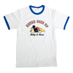 【ポイント10倍】DisneyディズニーリンガーネックTシャツミッキーマウスMAWDS5791