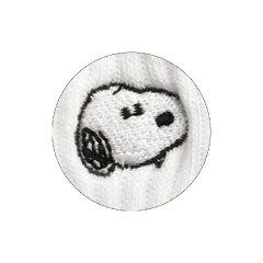 PEANUTSピーナッツワンポイント刺繍ソックススヌーピーSNAP1935J