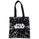STAR WARS スター・ウォーズ カラー トートバッグ ロゴ ブラック SWAP616 1