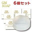 GM SOAP(ジーエムソープ)100g×6個セット有機ゲルマニウムGe-132P配合洗顔石鹸 レパゲルマニウム