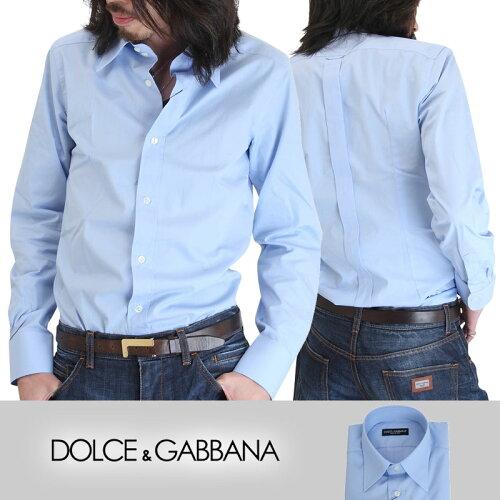DOLCE&GABBANA/ドルチェアンドガッバーナ メンズドゥエボットーニドレスシャツ/ワイシャツ(Yシャツ...