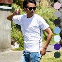 1PIU1UGUALE3 RELAX(ウノピゥウノウグァーレトレ) サイドロゴプリントTシャツ(ホワイト/ピンク/チャコール/ブラック/ロイヤルブルー/ラ..
