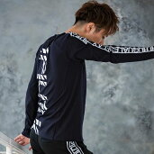 1PIU1UGUALE3RELAX(ウノピゥウノウグァーレトレ)サイドテープTシャツ(ホワイト/ネイビー/ブラック)