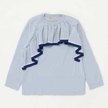 MARNI マルニ フリル ウール ニットウェア セーター 女の子 ブランド 子供服 こども服 おしゃれ かわいい キッズ【正規輸入品】