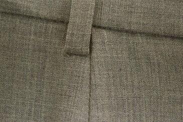 【中古】MaxMara マックスマーラ イタリア製 ウール ロング パンツ 36 茶系 激安# 【170522】古着【レディース】【s50】