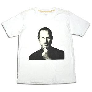 【新品】【メール便●ネコポス可能】【Steve Jobs】スティーブ・ジョブズ プリント半袖T…