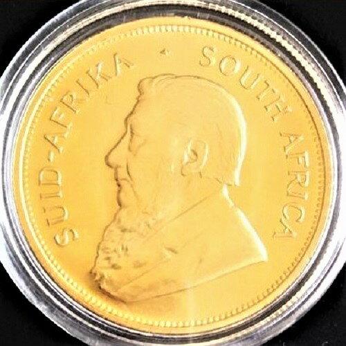 クルーガーランド金貨 南アフリカ共和国 1981年 1オンス 保証書付 送料無料