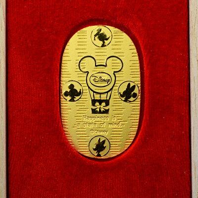 ウォルトディズニーの仲間たちが24金小判になったよ♪純金ですが可愛らしさあるコバンです!お...