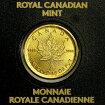 メイプル金貨お守りゴールドコイン1g