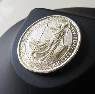 【純銀 コイン 銀貨】ブリタニア銀貨 1オンス 2018年製 イギリス王立造幣局 エリザベス ウォーキングリバティ silver coin .999 britannia