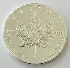 メイプル銀貨,純銀コイン,純銀,銀貨,銀メイプル銀貨 1オンス 2012年製 カナダ王室造幣局発行